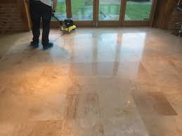 Travertine Tile Effect Laminate Flooring Floor Restoration Stone Cleaning And Polishing Tips For