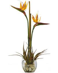 here s a great deal on bird of paradise silk flower arrangement