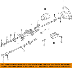 ford oem steering column upper shaft f2uz3524a ebay