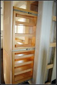 Kitchen Pantry Storage Cabinet Shelves Diy Slide Out Drawers Build Slide Out Pantry Pull Out