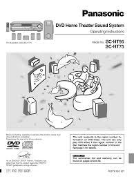 panasonic dvd home theater sound system download free pdf for panasonic sa ht80 home theater manual