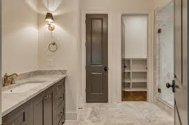 White Built In Bathroom Linen Cabinets With Mirrored Doors - Antique white bathroom linen cabinets
