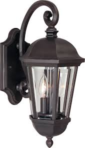 Craftmade Lighting Craftmade Z3014 92 Wall Lantern With Beveled Glass Shades Bronze