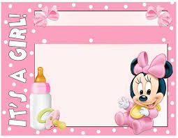 minnie mouse baby shower invitations minnie mouse baby shower invitation free printable invitation