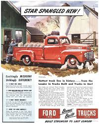 1950 ford up truck ford f1 advert cars ford trucks