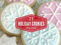 21 easy holiday cookies no cookie cutter needed