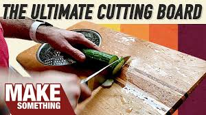 Funny Cutting Boards by The Most Practical Cutting Board You Can Make Woodworking