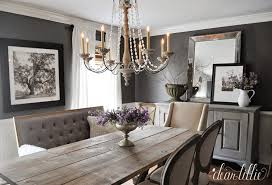 dear lillie kendall charcoal in our dining room