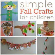 easy fall crafts for craft kindergarten classroom and