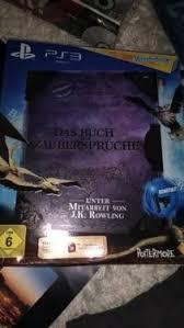 harry potter zaubersprüche buch ps3 wonderbook das buch der zaubersprüche harry potter in