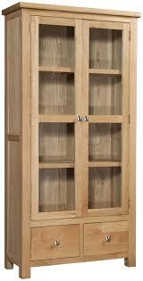 Wood Cabinet Glass Doors Glass Door Storage Cabinet St Multi Wood White Bathroom Linen Ikea