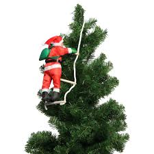 newest climbing santa claus with rope ladder outdoor christmas newest climbing santa claus with rope ladder outdoor christmas tree decorations for home new year gifts party events supplies in pendant drop ornaments