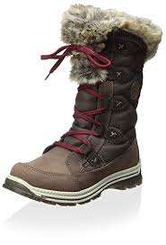womens fur boots canada amazon com santana canada s mugatti boot brown 8 m
