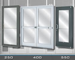 Double Glass Door by Crl Arch U S Aluminum Entrance Doors