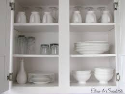 How To Clean Kitchen Cabinet Doors Easy Kitchen Organization Ideas Clean And Scentsible