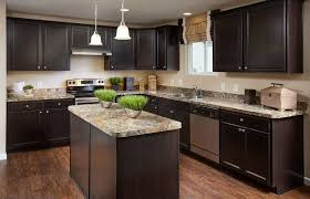 Kitchen Island With Granite Countertop Kitchen With High Ceiling U0026 L Shaped Zillow Digs Zillow