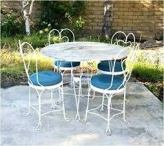 Antique Metal Patio Chairs Vintage Metal Outdoor Furniture Fashioned Metal Patio Chairs