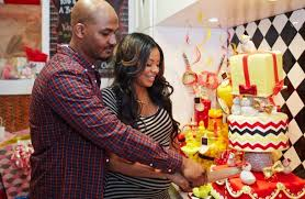 michael baby shower lifestyle inside simmons and mike wayans baby shower