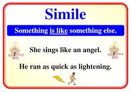 simile metaphor personification poster by simon h teaching