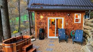 Mountain House Designs Tiny Mountain Cottage In Nc Amazing Small House Design Youtube