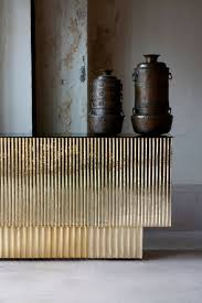 Industrial Reception Desk Semi Industrial Brass Desk All Design Pinterest Consoles