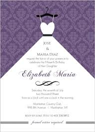 quinceanera invitation wording cheap quinceanera invitations invite shop