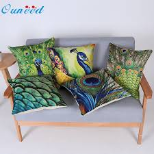 Peacock Pillow Pier One by Interior Decor Gray Love Seat With Square Peacock Pattern Pillows