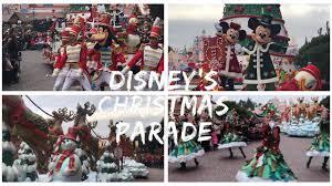 disney u0027s christmas parade 2017 disneyland paris 2017 youtube