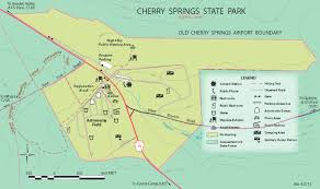 Arizona State Parks Map by Cherry Springs S P Photography Photo Magazine Extra