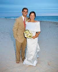 Green Dresses For Weddings A Modern Green Colored Beach Wedding In New York Martha Stewart