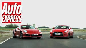 paul walker porsche gt3 porsche 911 turbo s vs nissan gt r review auto express youtube