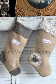 so cute manly montana christmas vintage stocking personalized