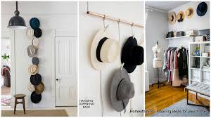 Home Storage Ideas by Genius And Lovely Hat Storage Ideas For Your Home Homesthetics