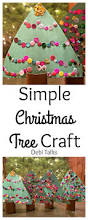 christmas tree craft for kids cute christmas craft