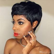 short hairstyle wigs for black women short wigs for african american women rihanna short pixie human
