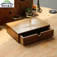 rangement sur bureau en bois petit tiroir boîte de rangement bureau bureau chevet des