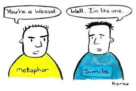 metaphor lessons tes teach