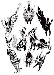 pokemon tribal tattoos favourites by faeriehinata on deviantart