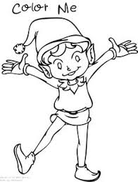 christmas elf coloring pages elves gnomes crafty goodness