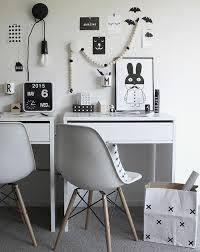 bureaux blancs comment décorer un bureau laqué blanc 61 photos inspirantes