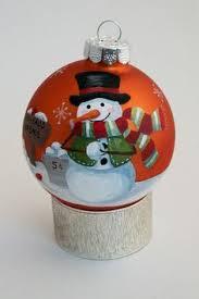 painted ornament deer cardinal item 607 deer painted