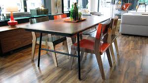 gus modern dining table housefish lock chairs with a gus modern table at