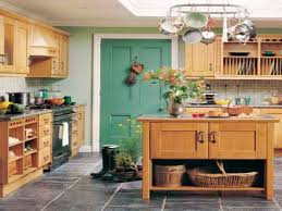 Painted Wooden Kitchen Cabinets Country Cottage Kitchen Ideas White Painted Wooden Kitchen