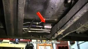 1997 ford f150 exhaust system how to replace the fuel filter in a 1997 ford f150