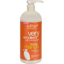 bath and body vitaminsofthemonth alba botanica very emollient bath and shower gel honey mango 32 fl oz