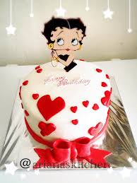 betty boop cake topper s kitchen betty boop cake and cupcakes