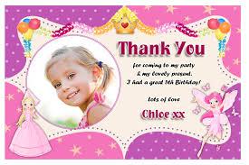 birthday thank you card thank you card for birthday photo circle frame