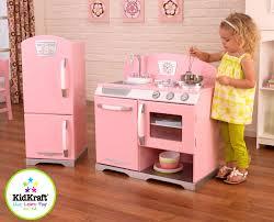 bathroom sweet wooden play kitchen set kidkraft stools natural