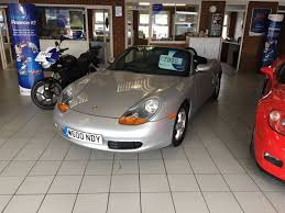 silver porsche boxster 2017 porsche boxster 2 7 1 door in silver with only 38000 miles