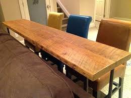 Narrow Outdoor Bar Table Diy Bar Height Table U2013 Thelt Co